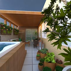 Hot tubs by Bianca Goulart Design,