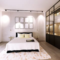 Bedroom by Jannovative Design, Industrial
