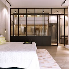 :  Bedroom by Jannovative Design