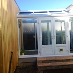 Accessible Accommodation in Somerset:  Conservatory by Building With Frames