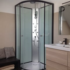 Relooking salle de bain : Salle de bains de style  par dwArchitecte d' Intérieur