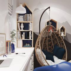 ЖК Маршала Захарова 7: Детские комнаты в . Автор – 3D GROUP