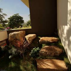 Vườn theo de square, Mộc mạc