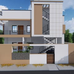 Proposed Residential Building @ Bidar by Cfolios Design And Construction Solutions Pvt Ltd