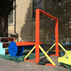 London Design Festival - BDT Headline Partners - Brixton Playing Fields:  Event venues by Studio HE (S /HE)