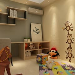 Setia Alam :  Nursery/kid's room by Muse Studio, Modern