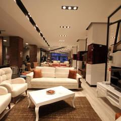LIA Mimarlik İcmimarlik – Karadağ Mobilya Mağaza Tasarımı:  tarz Dükkânlar