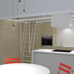 Built-in kitchens by Angelo Nardozza Architetto,