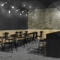 SALLE DE RESTAURANT: Restaurants de style  par STUDIO NOÉMIE BANIER