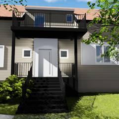 Entrada principal: Casas familiares  por Studio²