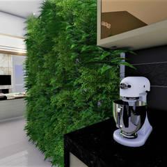 Sala Clássica Contemporânea: Corredores e halls de entrada  por Studio²