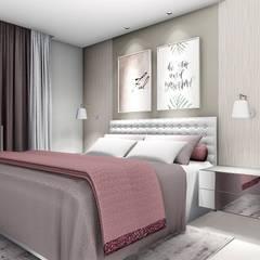 Bedroom by Trivisio Consultoria e Projetos em 3D