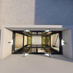 Telhados planos  por Sousa Macedo, Arquitectos, Lda.
