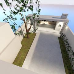 Cobertizos de estilo  por Sousa Macedo, Arquitectos, Lda.
