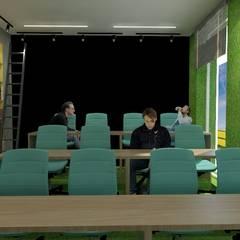 Distrito E (cowork do empreendedorismo): Locais de eventos  por VNS ARQUITETURA