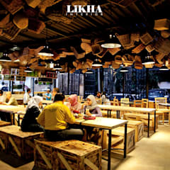 Pasar Cisangkuy (Indoor Area):  Restoran by Likha Interior
