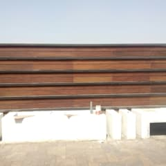 IPE Railing on Terrace:  Terrace by Opulo India