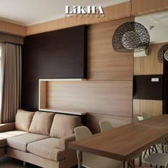 INTERIOR APARTEMEN di Gateway Pasteur Apartemen: Ruang Keluarga oleh Likha Interior,
