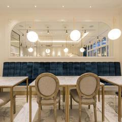 붙박이 가구: 디자인에이드의  바 & 카페