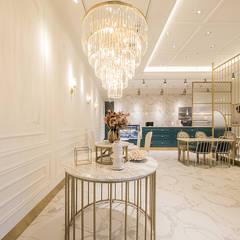 조명,가구: 디자인에이드의  바 & 카페