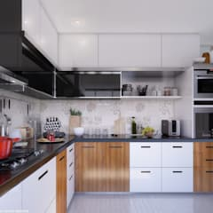 KITCHEN:  Built-in kitchens by VIZPIXEL STUDIO