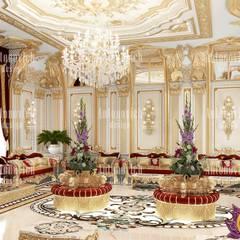Palace interiors by Katrina Antonovich:  Living room by Luxury Antonovich Design