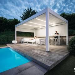 Camargue:  Patios & Decks by Atria Designs Inc.