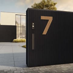 Linarte: modern Houses by Atria Designs Inc.