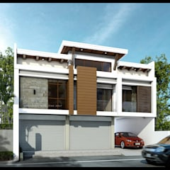 Two Storey 3 Bedroom- Mixed Use Residential:  Single family home by ezpaze design+build