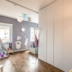 Nursery/kid's room by MOB ARCHITECTS