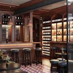 O'Neills Irish Pub - Cascais: Bares e clubes  por DZINE & CO, Arquitectura e Design de Interiores