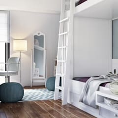 Teen bedroom by DZINE & CO, Arquitectura e Design de Interiores