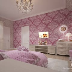 Girls Bedroom by Design studio TZinterior group