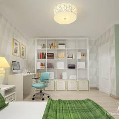 Nawet w niewielkim domu można stworzyć francuskie wnętrze): styl , w kategorii Pokój dla dziecka zaprojektowany przez Design studio TZinterior group