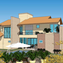 Casas de campo de estilo  por Seu Projeto Arquitetura