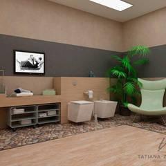 Dom dla wolnych ludzi. Minimalizm i morze powietrza.: styl , w kategorii Domowe biuro i gabinet zaprojektowany przez Design studio TZinterior group