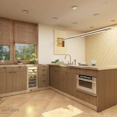 Built-in kitchens by Design studio TZinterior group,