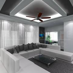 غرفة المعيشة تنفيذ TRIANGLE HOMEZ