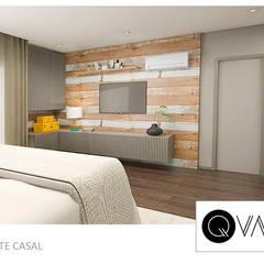 Quarto de Hotel: Quartos  por QViveAlli