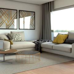 ห้องนั่งเล่น by BORAGUI - Design Studio