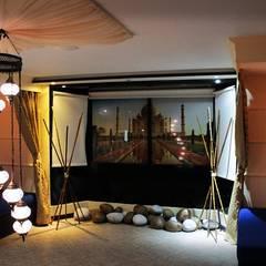 WELLNES SPA SANTA BARBARA - BOGOTÁ: Spa de estilo  por Dharma Arquitectura,