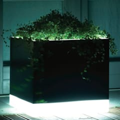 FRP LED Planter:  Hotels by Scube Creations