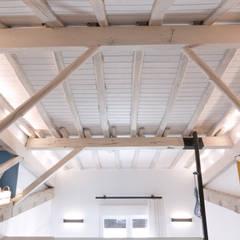 ACABADOS TECHO ESTUDIO: Paredes de estilo  de Rooms de Cocinobra