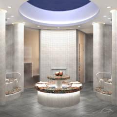 Saunas de estilo  por enki design
