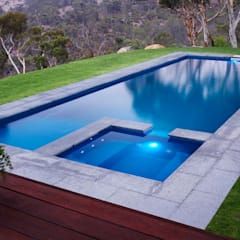 Garden Pool by Scube Creations, Tropical