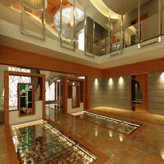 Corridor & hallway by homify, Asian Marble