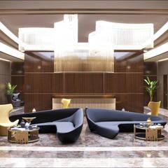 Элитный дизайн фойе в офисе: Офисы и магазины в . Автор – Art-i-Chok