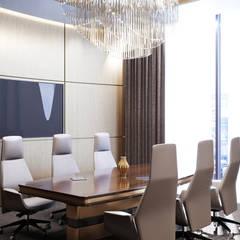 Дизайн интерьера переговорной комнаты: Конференц-центры в . Автор – Art-i-Chok