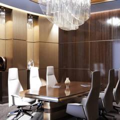 Идеи элитного дизайна интерьера офиса в Киеве: Офисные помещения в . Автор – Art-i-Chok