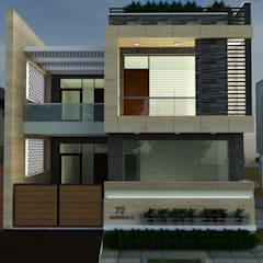 Mr. Agarwalu0027s Residence: Modern Houses By S A Designs